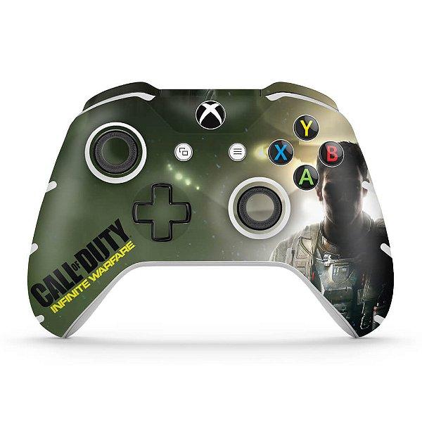 Skin Xbox One Slim X Controle - Call of Duty: Infinite Warfare