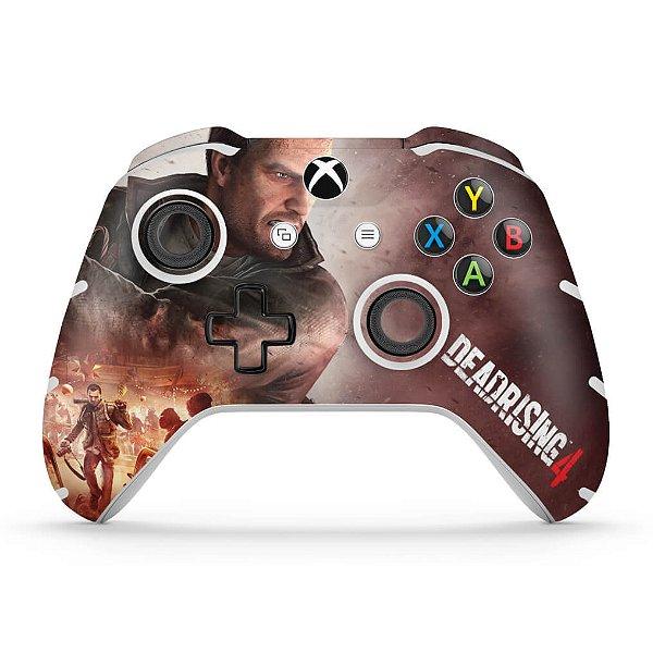 Skin Xbox One Slim X Controle - Dead Rising 4