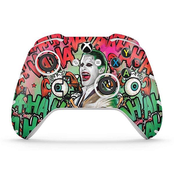 Skin Xbox One Slim X Controle - Esquadrão Suicida #B