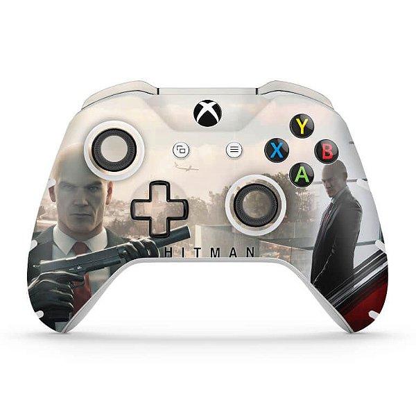Skin Xbox One Slim X Controle - Hitman 2016