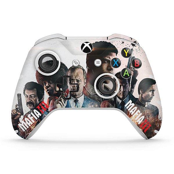 Skin Xbox One Slim X Controle - Mafia 3