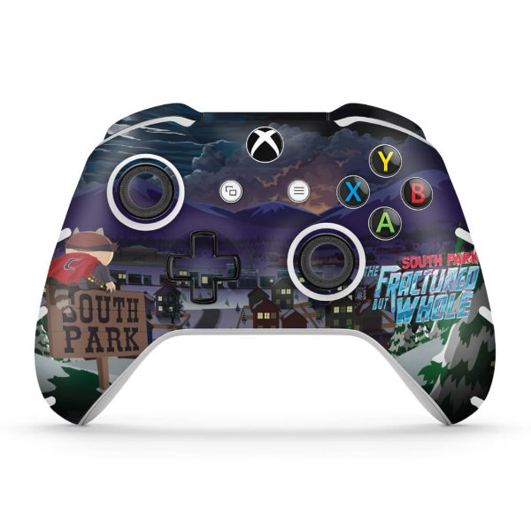 Skin Xbox One Slim X Controle - South Park: The Fractured But Whole