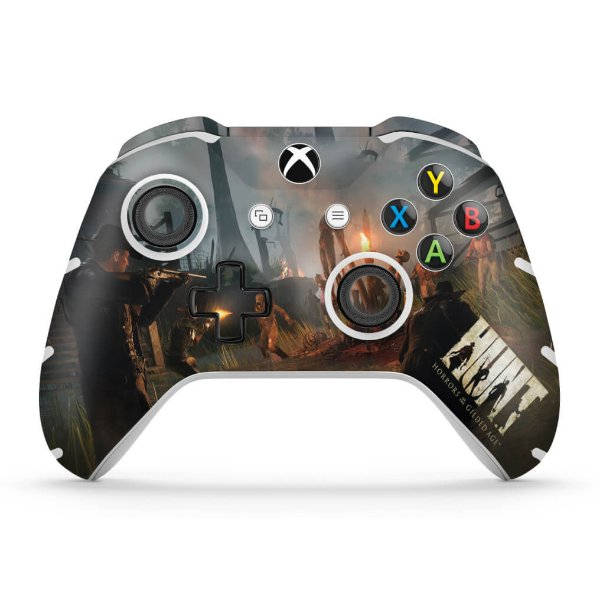 Skin Xbox One Slim X Controle - Hunt: Horrors of the Gilded Age