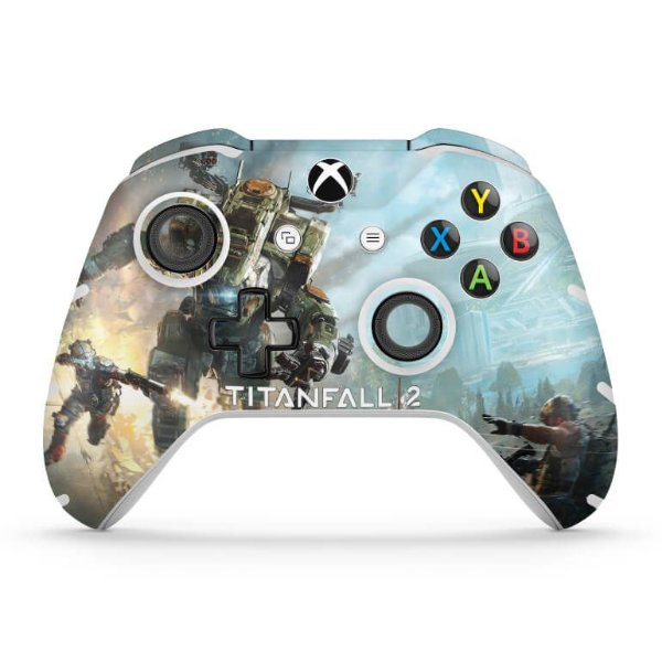 Skin Xbox One Slim X Controle - Titanfall 2
