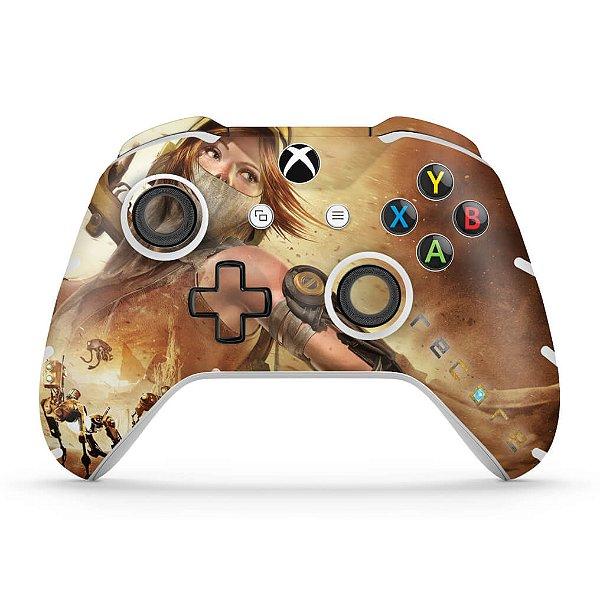 Skin Xbox One Slim X Controle - Recore