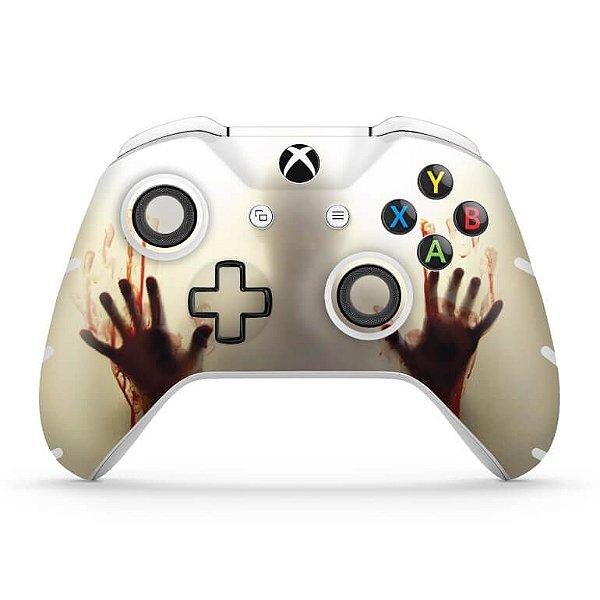 Skin Xbox One Slim X Controle - Fear The Walking Dead