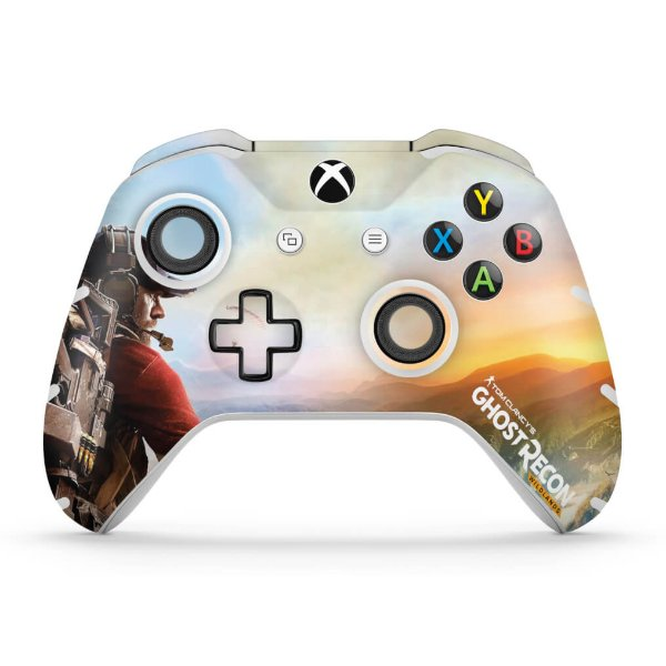 Skin Xbox One Slim X Controle - Ghost Recon Wildlands