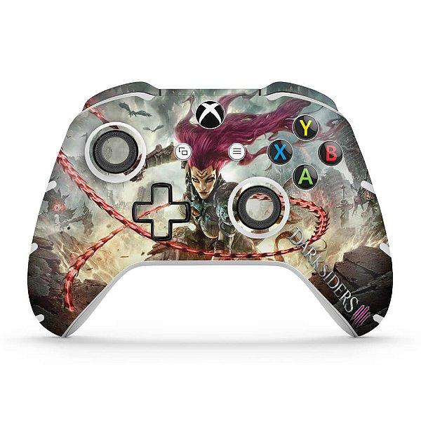 Skin Xbox One Slim X Controle - Darksiders 3