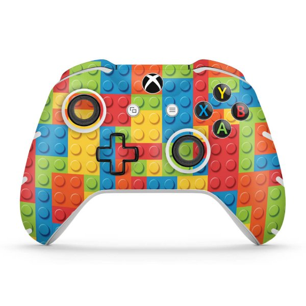 Skin Xbox One Slim X Controle - Lego