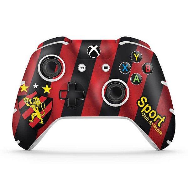 Skin Xbox One Slim X Controle - Sport Club do Recife