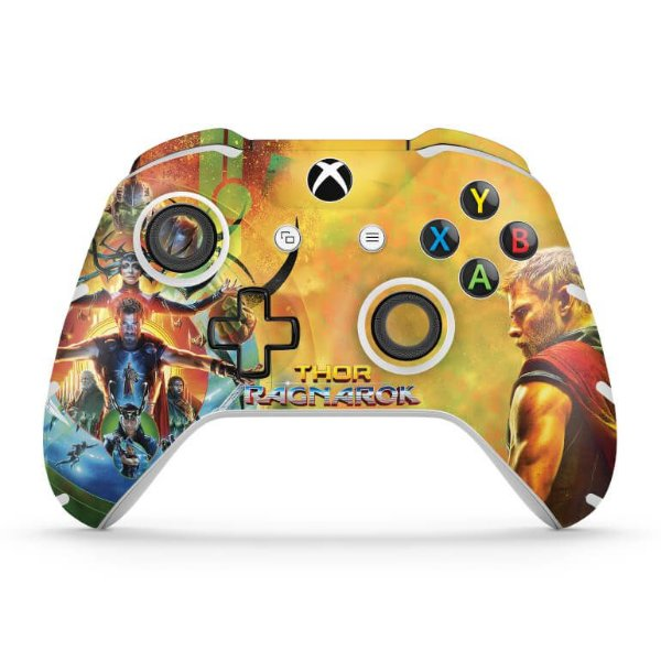 Skin Xbox One Slim X Controle - Thor Ragnarok