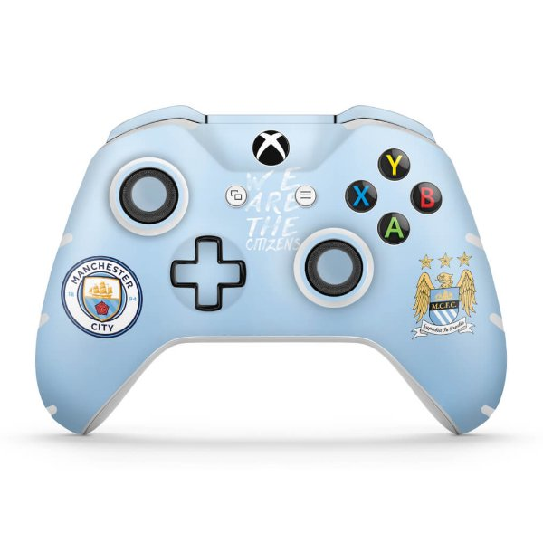 Skin Xbox One Slim X Controle - Manchester City FC