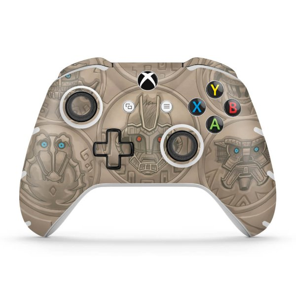 Skin Xbox One Slim X Controle - Shadow Of The Colossus