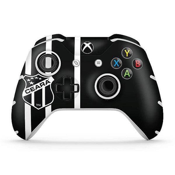 Skin Xbox One Slim X Controle - Ceará Sporting Club