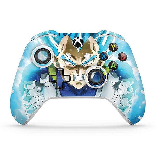 Skin Xbox One Slim X Controle - Dragon Ball Super