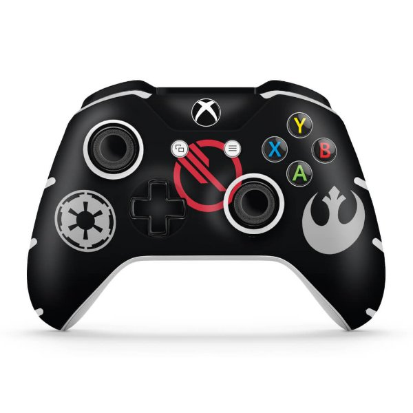 Skin Xbox One Slim X Controle - Star Wars Battlefront 2 Edition