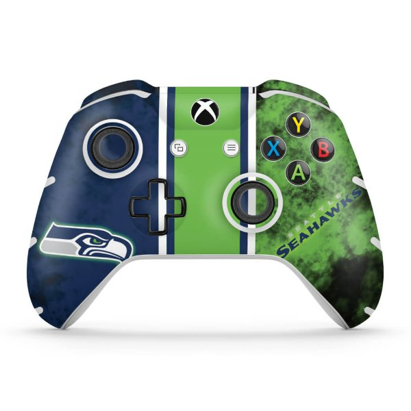 Skin Xbox One Slim X Controle - Pittsburgh Steelers - NFL