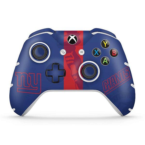Skin Xbox One Slim X Controle - New York Giants - NFL