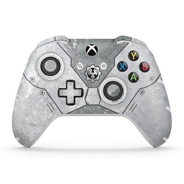 Skin Xbox One Slim X Controle - Gears 5 Special Edition Bundle