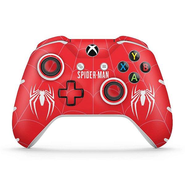 Skin Xbox One Slim X Controle - Spider-man Bundle