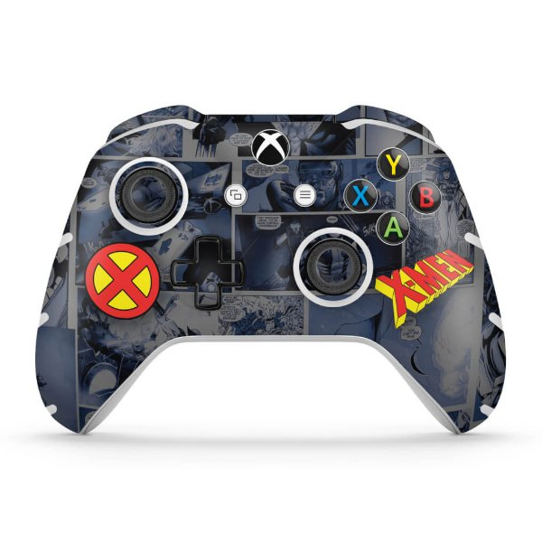 Skin Xbox One Slim X Controle - X-Men Comics