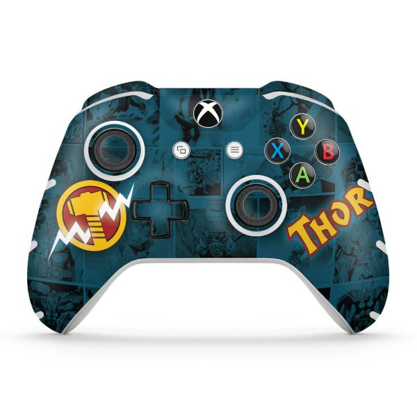 Skin Xbox One Slim X Controle - Thor Comics