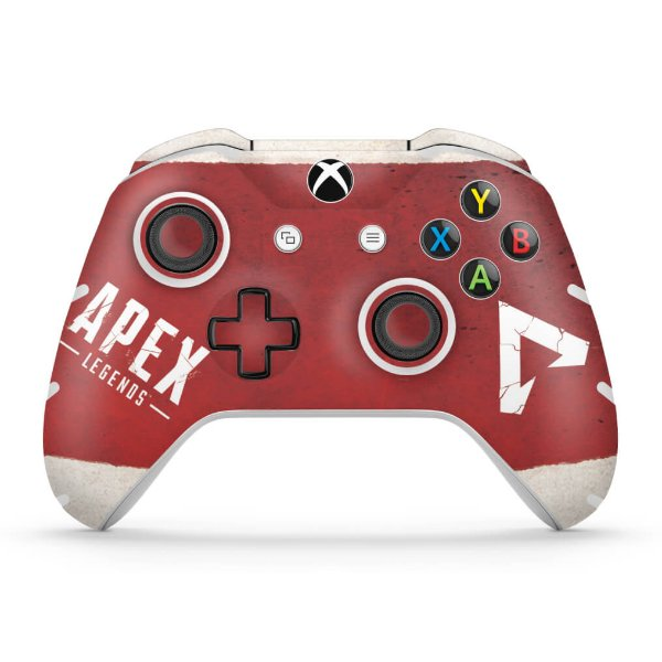 Skin Xbox One Slim X Controle - Apex Legends