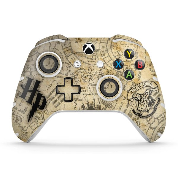 Skin Xbox One Slim X Controle - Harry Potter
