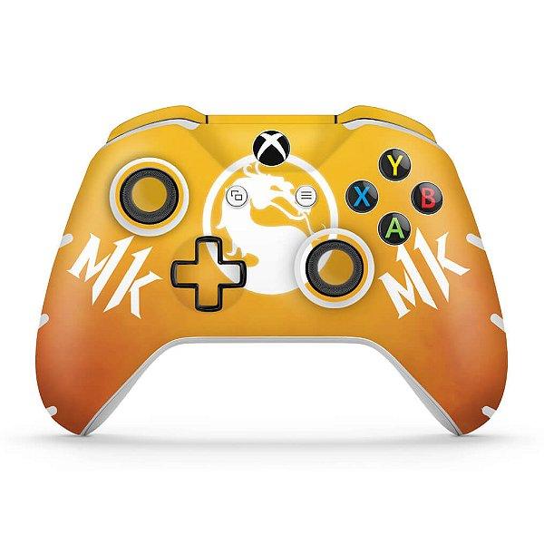 Skin Xbox One Slim X Controle - Mortal Kombat 11