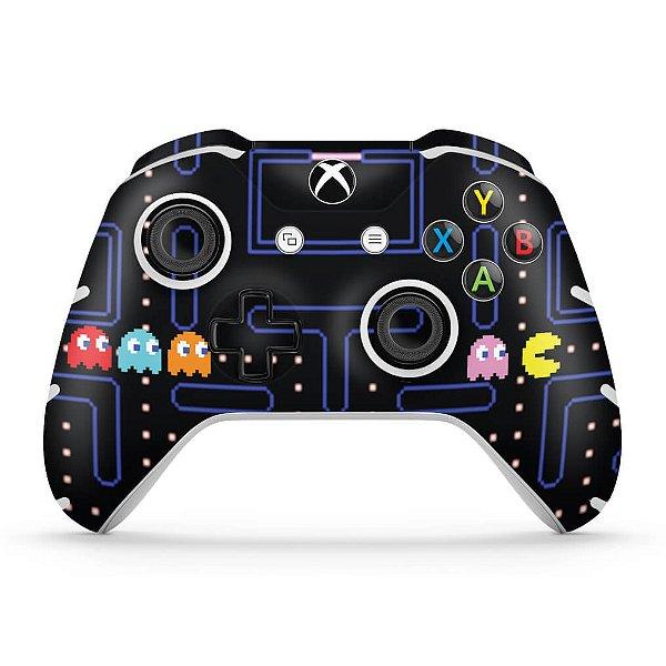 Skin Xbox One Slim X Controle - Pac Man