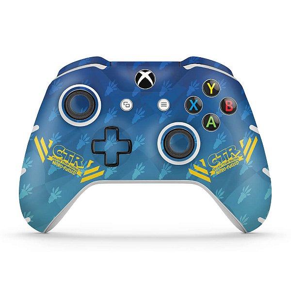 Skin Xbox One Slim X Controle - Crash Team Racing CTR