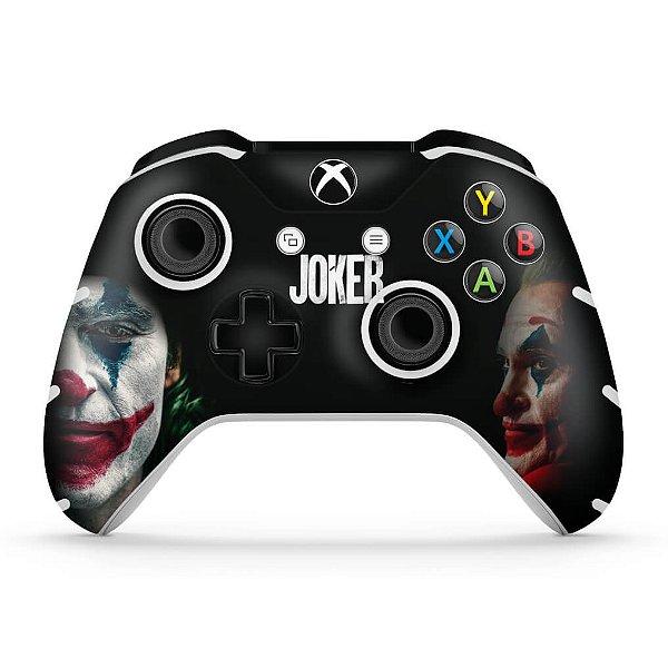 Skin Xbox One Slim X Controle - Joker Coringa Filme