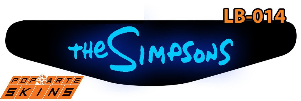 PS4 Light Bar - The Simpsons