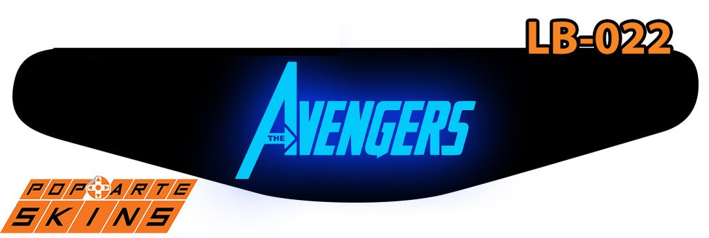 PS4 Light Bar - The Avengers - Os Vingadores