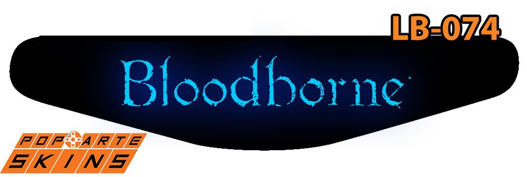 PS4 Light Bar - Bloodborne