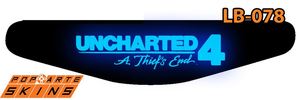 PS4 Light Bar - Uncharted 4