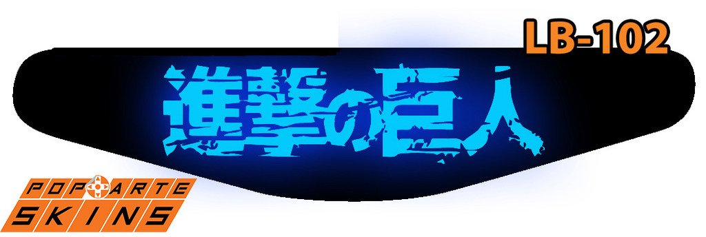 PS4 Light Bar - Attack On Titan - Shingeki No Kyojin #A