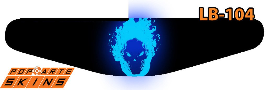 PS4 Light Bar - Ghost Rider #B
