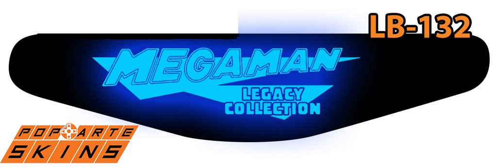 PS4 Light Bar - Megaman Legacy Collection