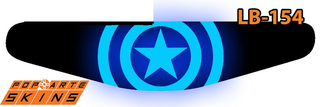 PS4 Light Bar - Capitão America - Guerra Civil