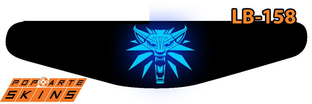 PS4 Light Bar - The Witcher 3: Wild Hunt - Blood And Wine