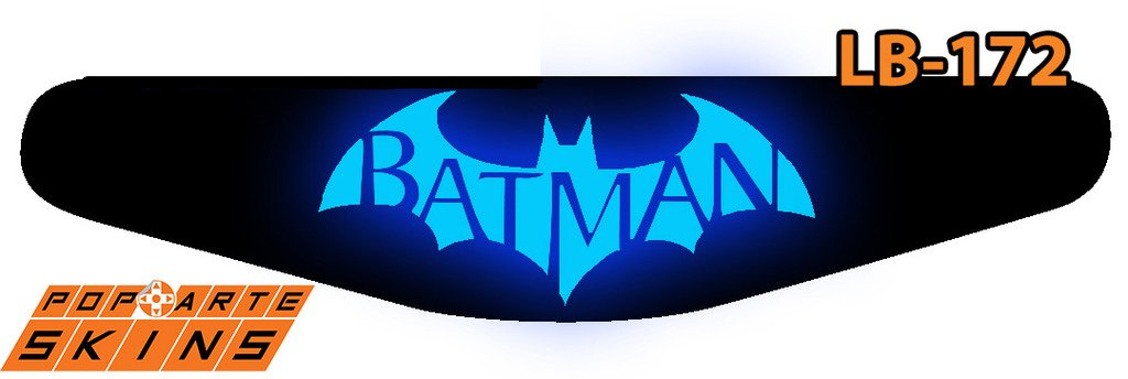 PS4 Light Bar - Batman Return To Arkham