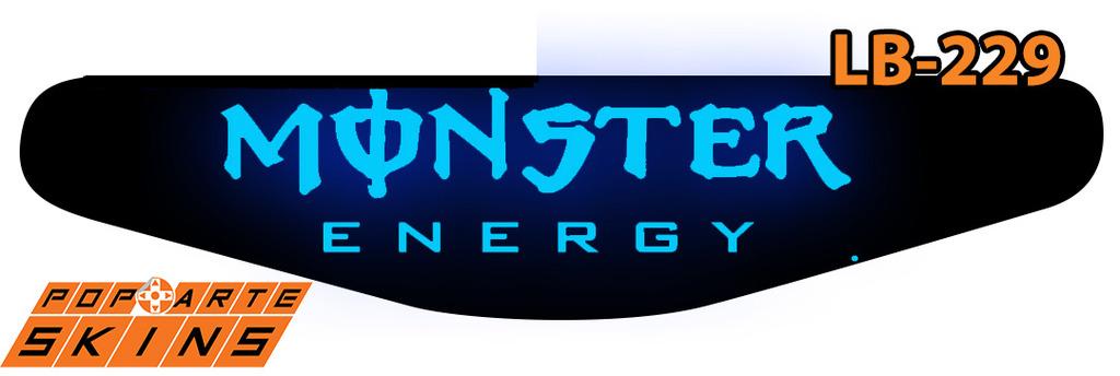 PS4 Light Bar - Monster Energy Drink