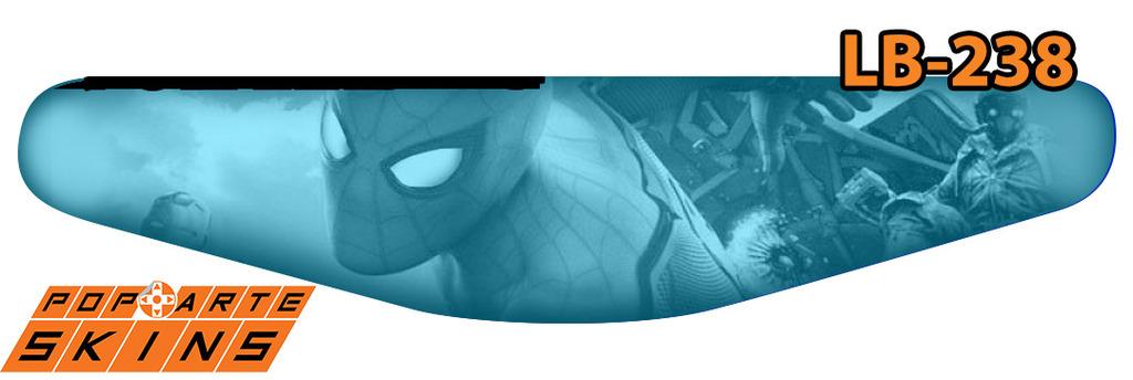PS4 Light Bar - Spiderman - Homem Aranha Homecoming