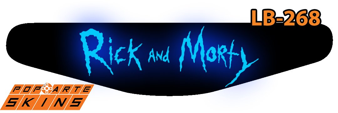 PS4 Light Bar - Rick And Morty