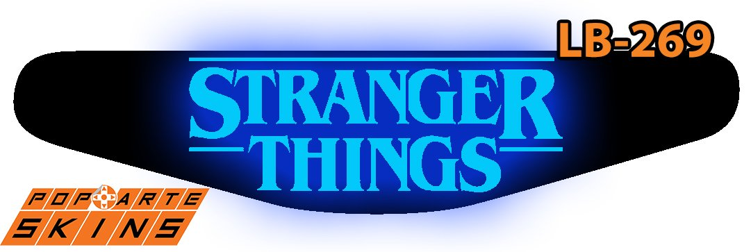 PS4 Light Bar - Stranger Things