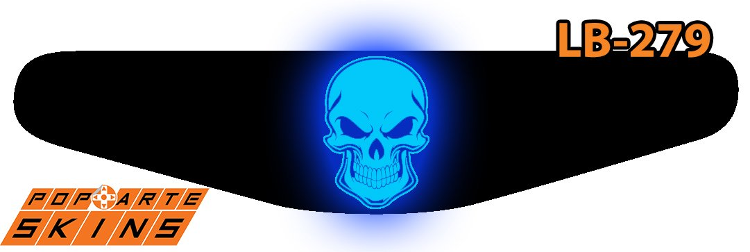PS4 Light Bar - Caveira Skull