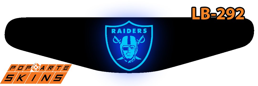 PS4 Light Bar - Oakland Raiders Nfl