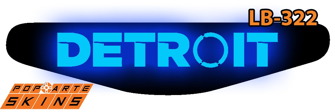 PS4 Light Bar - Detroit Become Human