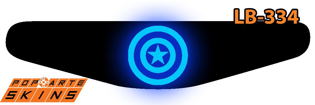 PS4 Light Bar - Capitão América Comics